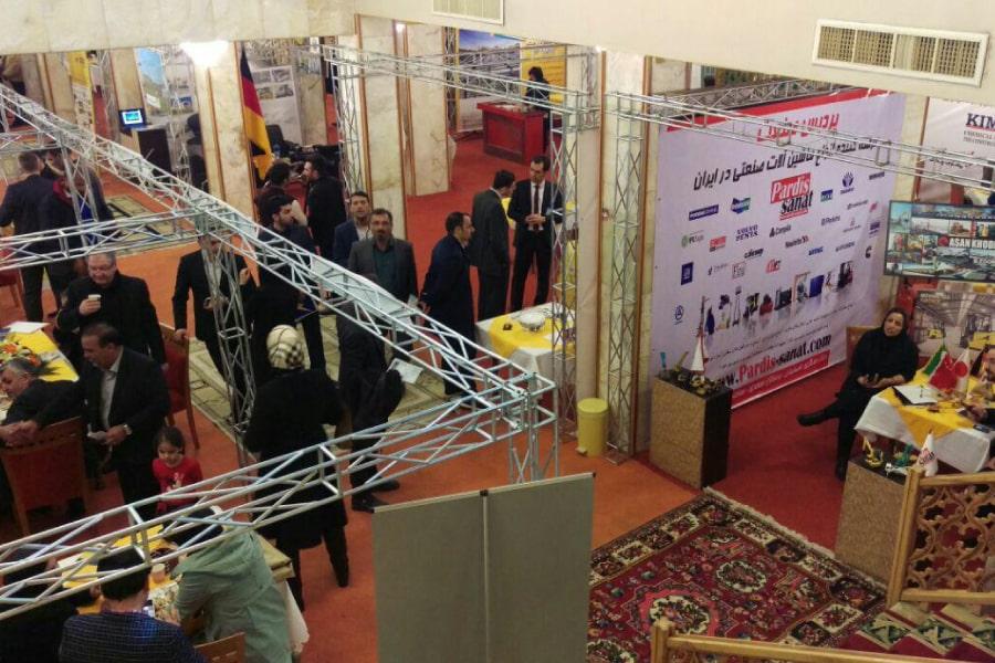 همایش صنعت ساختمان و تکنولوژی های وابسته در هتل عباسی اصفهان