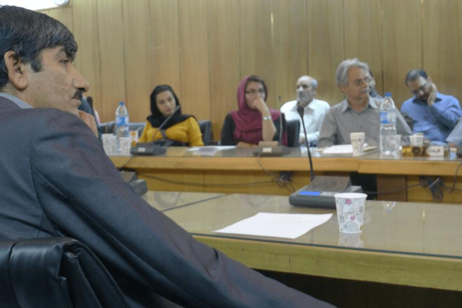 جلسات نقش فناوری در اقتصاد هنر ایران
