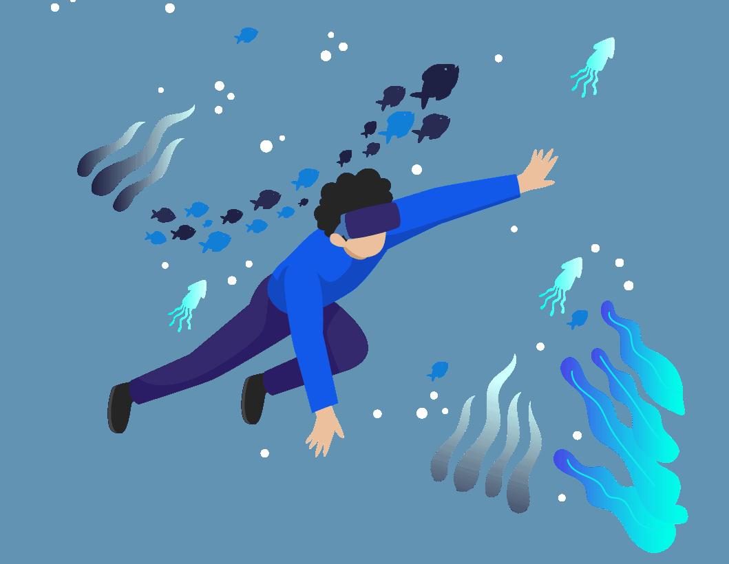 اسلایدر واقعیت مجازی -شتاب دهنده سیوان
